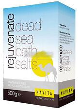 Mar Muerto Spa-Bath Sales 500g- 100% Puro Orgánico Natural Minerales y Magnesio