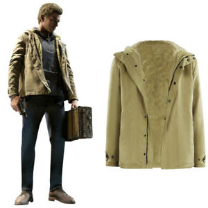 Resident Evil Village Ethan Winters Jacket Coat Cosplay Costume Halloween Outfit