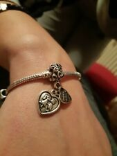 Made with Love family charm hanging charm for European Charm Bracelet/Pand