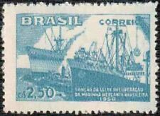 Brazil - 1958 - Sanction of the Law of Brazilian Merchant Navy Recovery - #877