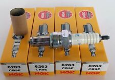 CR9E NGK Spark Plugs - Ducati Kawasaki Suzuki Yamaha SET OF 4 Spark Plugs