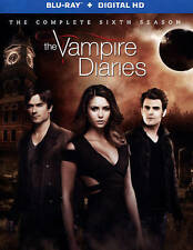 The Vampire Diaries Complete 6th Sixth Season 6 Six BRAND NEW 4-DISC BLU-RAY SET