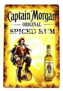 Sailor Jerry rum Metal Tin Plaque Signs Man Cave Pub Club Cafe TIKI BAR Home