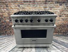 "New listing Viking Range 36"" Series 5, 2019 Model, 6 Sealed Burners, Large oven, Warranty!"