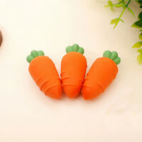 3 Pcs Lovely Rubber Pencil Eraser Stationery School Office Supplies Kids Gifts