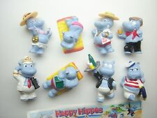 KINDER SURPRISE SET - HAPPY HIPPOS VACATION HOLIDAY MERENDERO 2001 - FIGURES