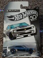 2018 Hot Wheels Chevy Camaro Concept 50th Anniversary Zamac Edition #2/8