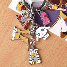 Digital Monster Digimon Adventu Gabumon Patamon Keychain Keyring Cosplay