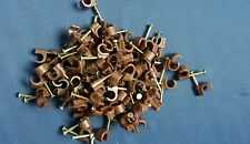 Cable Clips Brown 7 - 8MM