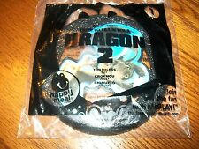 McDonald's How to Train Your Dragon 2 Toothless Frisbee Happy Meal Toy NIP #1