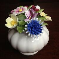 Royal Doulton Fine Bone China Floral Bouquet Hand Painted Porcelain Flowers