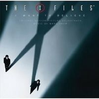 THE X FILES I WANT TO BELIEVE SOUNDTRACK CD NEU