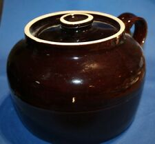 Old Crock with lid