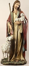"36.5"" Jesus The Good Shepherd Church Home Garden Statue Joseph's Studio # 42184"