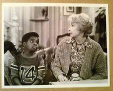 NBC TV Press Photo~ DIFF'RENT STROKES ~Gary Coleman ~Audrey Meadows