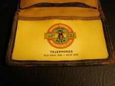 Circa 1900 American Brewing Celluloid Card Holder, Indianapolis, Indiana