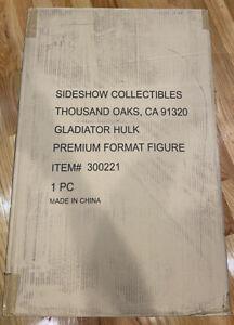 SIDESHOW COLLECTIBLES PREMIUM FORMAT Gladiator Hulk Statue #1017