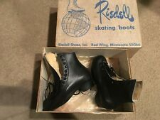 Vtg Riedell { Model 202 } Youth Size 1 Skating Shoes - Boots Only New