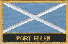 Port Ellen Scotland Town & City Embroidered Sew on Patch Badge