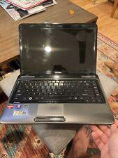 """Toshiba Satellite L645D-S4030 14"""" Laptop - AMD P520, ATI 4250, 4GB RAM 320GB HDD"""