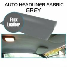 Faux Leather Look Headliner Foam Backing Fabric, Recondition Roof Liner 60