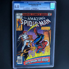 AMAZING SPIDER-MAN #184 (1978) 💥 CGC 6.0 💥 No Price Variant ONLY 25 IN CENSUS!