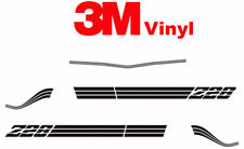 Vintage Stripe Fits: 1980 1981 Chevrolet Camaro Z28 Graphics Decals on 3M Film