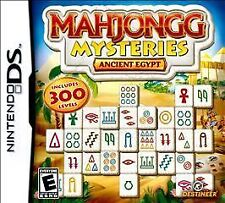 Mahjongg Mysteries: Ancient Egypt (Nintendo DS, 2010) ~ BRAND NEW & SEALED