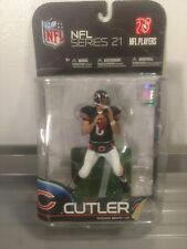 Todd McFarlane's NFL Series 21 Action Figure In Box Jay Cutler Blue Jersey
