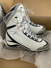 Riedell Ice Skates Womens Size 8 White Soft Boot Figure Skating Winter Lace Up