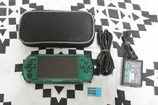 SONY PSP 3000 Spirited Green Console Playstation Tested Very Good Japan Used