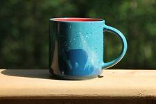 TIM HORTONS 2017 Limited Edition Coffee Mug #017 Blue Bear Walking In Woods