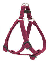 """NEW Berry Red Dog Harness in 1"""", 3/4"""", or 1/2"""" by LupinePet Eco (Recycled)"""