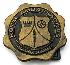Royal Ambassadors Vintage Belt Buckle