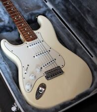 Fender Mexican Stratocaster 2006 model made in 60th Anniversary Year Lefty White