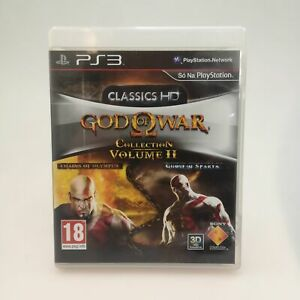 God of War HD Collection Volume 2 II Complete Game for Sony PS3 | Good Condition