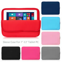 """Tablet Case Sleeve Bag Cover Protective For Apple iPad mini Air Pro 7.9""""-12.9"""""""