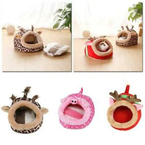 Small Animal Soft Warm Bed Pet Hammock Hamster Rat Guinea Pig House Nest Pad&HOT