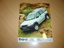 PHOTO DE PRESSE ( PRESS PHOTO ) Land Rover Freelander XE Station Wagon  R0034