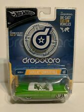 Hot Wheels Dropstars Green Cadillac Convertible 1/64 Scale Die-Cast Model Car