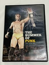 ROH - The Summer Of PUNK - DVD -  Ring Of Honor - WWE - Rare - NXT CM - PWG