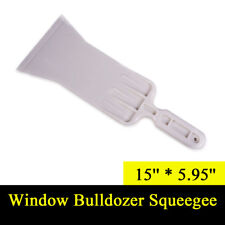 Window Tint Tools Film Auto Bulldozer Squeegee 15''x5.95'' Paddle Handle Scraper