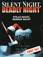 Silent Night , Deadly Night 1 & 2 , DVD , uncut , new and sealed !