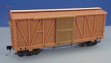 On3/On30 WISEMAN MODEL SERVICES PEACH BOTTOM RAILWAY OUTSIDE BRACED BOX CAR KIT