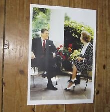 Margaret Thatcher and Ronald Reagan President POSTER