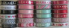 American Crafts [Valentine] 24 Spools Ribbon (32 yards) Save 65%