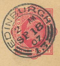 "2412 ""EDINBURGH / 13"" double ring (26 mm – CBP Type 9/25 – MACKAY 287) 1907"