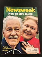 NEWSWEEK April 16 1973 Apr 4/16/73 AGING HOW TO STAY YOUNG Pablo Picasso