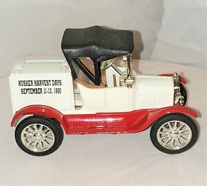 """1918 Ford Runabout Replica Die-Cast """"Husker Harvest Days"""" Bank"""
