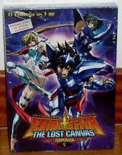 LOS CABALLEROS DEL ZODIACO THE LOST CANVAS 1º TEMPORADA 3 DVD NUEVO MANGA R2
